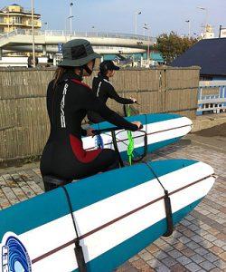 【湘南海岸公園】SURF GYM