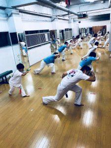 Camaleão Brasil Capoeira Japão