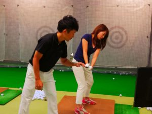 Golf player's studio