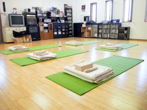 Ojas yoga スタジオ