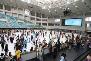 大阪プールアイススケート場