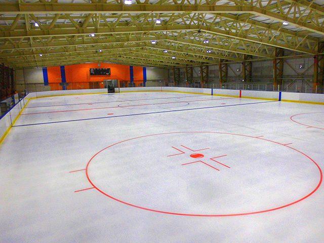 星置スケート場