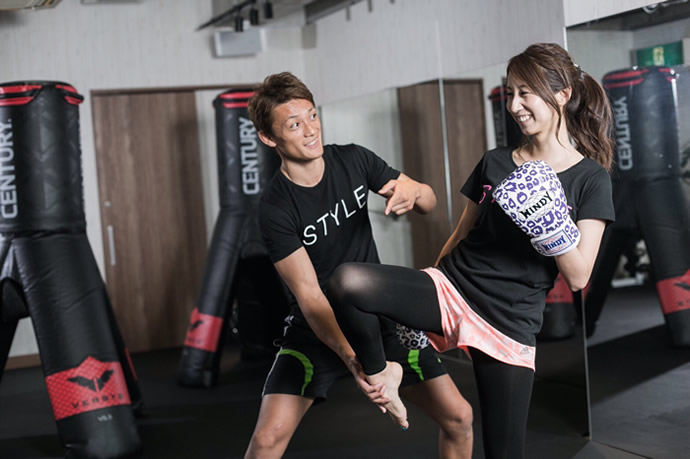 kick box style 肥後橋